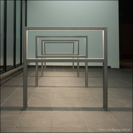 leccor edelstahl handlaufleuchte fiaccola u60. Black Bedroom Furniture Sets. Home Design Ideas